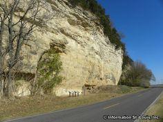 Randolph County, Near Prairie du Rocher. The Modoc Rock Shelter is located 2 mi southeast of Prairie du Rocher.