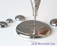 Gallium, Ga, 99.99%-99.9999% - ALB Materials Inc Semiconductor Materials, Rocks And Minerals, How To Find Out