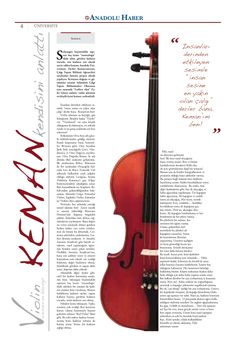 tasarım, newspaper design, design, violin, keman