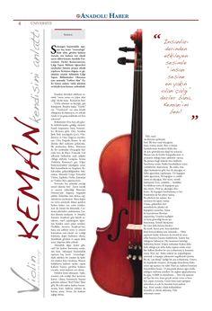 tasarım, newspaper design, design, violin, keman