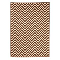 Chevron Stripe Indoor/Outdoor Rug