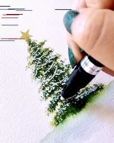 wwwpaperhouseme watercolor christmas paintings worldwide shipping tracked tree Christmas Tree Watercolor Paintings Worldwide Tracked ShippingYou can find Easy drawings and more on our website Tree Watercolor Painting, Painting Tips, Painting & Drawing, Pine Tree Painting, Liquid Watercolor, Acrylic Painting Tutorials, Watercolour Tutorials, Watercolor Landscape, Artist Painting