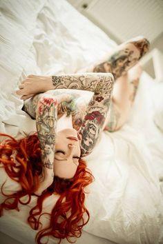 http://worldofarts.eu/gallery/   #tattoos #tattoobabe #tattooedgirl #girlstattoo