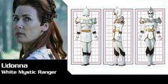 Udonna (White Mystic Ranger) - Power Rangers Mystic Force | Power Rangers Central