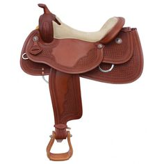 The Next Generation of Reining saddles! Execute your reining pattern with precision and finesse. The extra deep seat pocket improves rider balance and seat position, optimizing communication between horse and rider. Featuring smooth premium American leather, intricate hand-tooling and elegant Colomba conchos. #reining #saddle www.westernrawhide.com Saddles, Nice Dresses, Horses, Tack, West Coast, Communication, Leather, Smooth, Deep