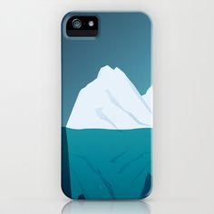 Iceberg in Cold Ocean iPhone Case by Maciej Konczewski - $35.00    http://society6.com/MaciejK/Iceberg-in-Cold-Ocean_iPhone-Case