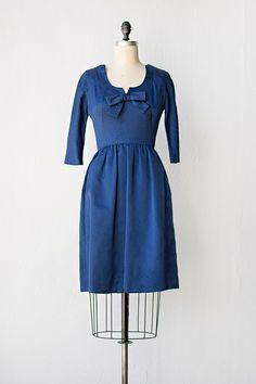 vintage 1960s designer I Magnin dress | Harthhope Dress