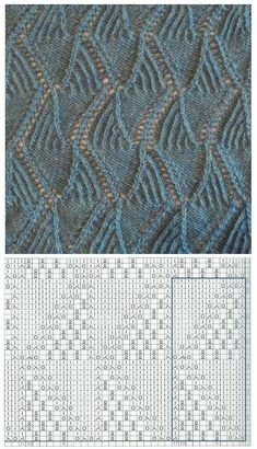 knitting Lace knitting Knitting , lace processing is essentially the most beautiful hobbies that women can't give up. Lace Knitting Stitches, Lace Knitting Patterns, Knitting Charts, Lace Patterns, Knitting Designs, Baby Knitting, Stitch Patterns, Diy Crafts Knitting, Diy Couture