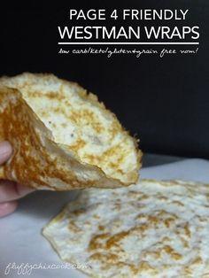 Westman Wraps – Low Carb Keto Tortillas (Induction Friendly Gluten & Grain Free) Ketogenic Recipes, Paleo Recipes, Low Carb Recipes, Cooking Recipes, Keto Foods, Low Carb Bread, Keto Bread, Low Carb Diet, Keto Bagels