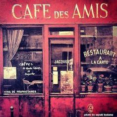 Cafe des Amis.