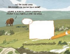 How to draw a woolly mammoth  step 2