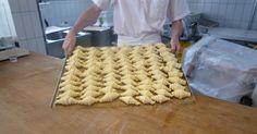 Baking fresh croissants at the Bakery at Nira Alpina Alpine Hotel, Croissants, Bakery, Meals, Fresh, Food, Kitchens, Crescents, Meal