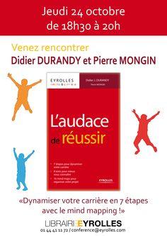 Rayon Management / Jeudi 24 octobre 2013 - Rencontre-dédicace avec Didier J. Durandy et Pierre Mongin - de 18h30 à 20h