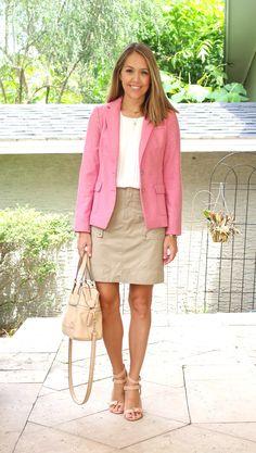 Today's Everyday Fashion: The Draped Blazer — J's Everyday Fashion