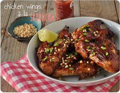 chicken wings sriracha
