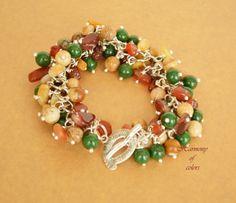 colorful bracelet,mix gemstone bracelet,beaded bracelet