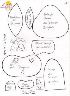 Cobre bolo de vaquinha com molde! | Artesanato & Humor de Mulher