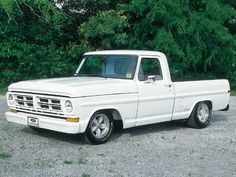 1972 Ford F100 15 Inch American Racing Wheels Photo 1