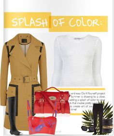 """Stylista - A Splash Of Colour"" by cookiek on Polyvore"