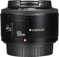 Shop for Yongnuo Yn Af/mf Large Aperture Auto Focus Lens For Canon Ef Mount Eos Camer. Starting from Compare live & historic camera lense prices. Camara Canon Eos, Nikon, Distancia Focal, Camera Reviews, Canon Ef, Focal Length, Best Camera, Camera Accessories, Camera Photography