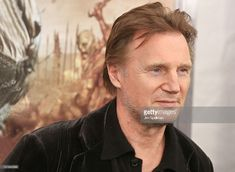 Actor Liam Neeson attends the 'Wrath of the Titans' premiere at the AMC Lincoln Square Theater on March 26, 2012 in New York City.