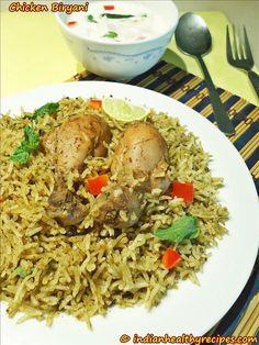 chicken biryani in pressure cooker | Indian Healthy Recipes