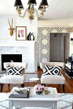 28 Pinterest inspired wallpaper designs for your home.