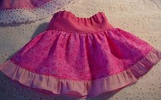 American Girl skirt pattern