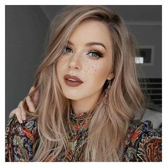 62 Trendy Dark Blonde Hair Colors Ideas STYLE SKINNER ❤ liked on Polyvore featuring beauty products, haircare and hair color