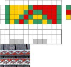 Tablet Weaving Patterns 2 2019 Tablet Weaving Patterns 2 The post Tablet Weaving Patterns 2 2019 appeared first on Weaving ideas. Inkle Weaving, Inkle Loom, Card Weaving, Card Patterns, Loom Patterns, Beading Patterns, Tablet Weaving Patterns, Medieval Crafts, Art Du Fil
