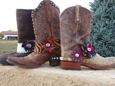 More pony petal spur straps - liven up your spurs with these fun flowers!