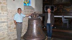 10/2016 - la cloche Marie-Pacifique a rejoint les ateliers Bodet. Au même moment, s'installait, à l'église de Trébry (Côtes-d'Armor), une exposition retraçant le métier de campaniste.