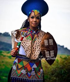 Zulu Traditional Attire, African Traditional Wear, African Traditional Wedding Dress, Traditional Wedding Attire, Traditional Styles, African Wedding Attire, African Attire, African Dress, African Weddings