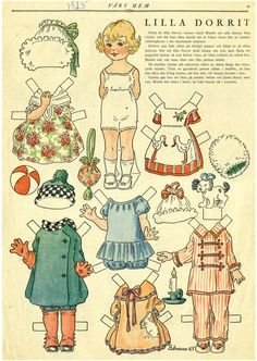 Danish *  The International Paper Doll Society by Arielle Gabriel for all paper…