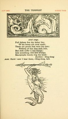 William Heath Robinson (artist) - The Tempest - Shakespeare