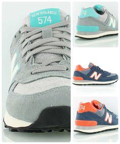 New Balance W574 // The absolute classic among the retro runner silhouettes by New Balance.