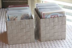 get your dvd's organized! use atlantic plastic dvd sleeves to really condense and maximize space!