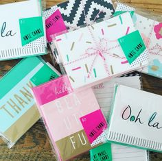 Our new current obsession are the target dollar spot note card sets! How cute are these?!!! @target