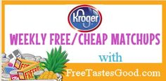 Find the Best Kroger Coupon Deals and Kroger Freebies all day, every day:)