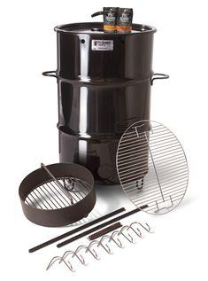 Pit Barrel® Cooker je sudový smoker ideální na barbecue Best Offset Smoker, Best Smoker Grill, Bbq Grill, Barbecue Sauce, Barbacoa, Barrel Smoker, Drum Smoker, Uds Smoker, Pit Barrel Cooker