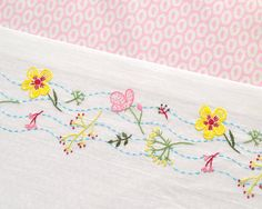 Embroidery Pattern, hand embroidery, floral embroidery, baby embroidery…