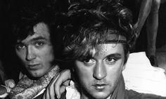 Blitz kids Martin Kemp and Steve Strange style icons Martin Kemp, Leigh Bowery, Blitz Kids, Stranger Things Steve, New Romantics, Strange Photos, Joy Division, Club Kids, Boy George