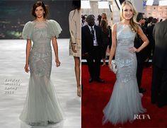 Katrina Bowden In Badgley Mischka - 2013 SAG Awards