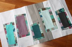 traveling quilts - stepping stones for Penny by filminthefridge, via Flickr