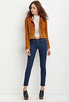 Low-Rise Skinny Jeans | Forever 21 #forever21denim
