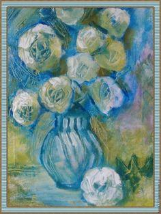 Картины цветов ручной работы. Ярмарка Мастеров - ручная работа. Купить Напиток Чудес ( х. м ). Handmade.