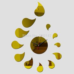 Barato Waterdrop Acrílico Gotas de Água Simples e Moderno Espelhado Relógio de Parede Espelho 3D Relógio DIY Home Decor 44*62 cm, Compro Qualidade Roteadores instalados diretamente de fornecedores da China:  Mirror Wall Clock LOVE Acrylic Sticker Modern Design with Self-adhesive Glue Home Decoration Bedroom Living Room 117X32