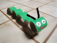23 worm kid craft
