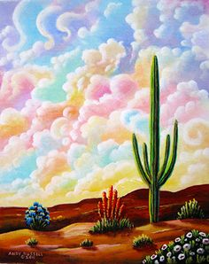 Painted Dessert - Andy Russell