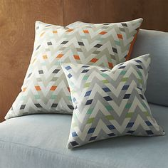 """muku cool 16"""" pillow with feather insert in view all sur collection 
